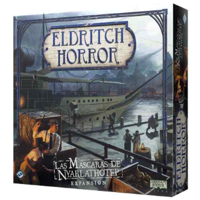 Eldritch Horror: Las máscaras de Nyarlathotep TABLERUM