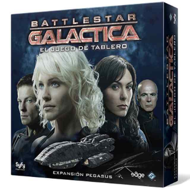 comprar Battlestar Galactica: Expansión Pegasus
