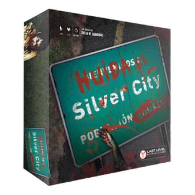 Huida de Silverf City (Nueva Edición) TABLERUM Español