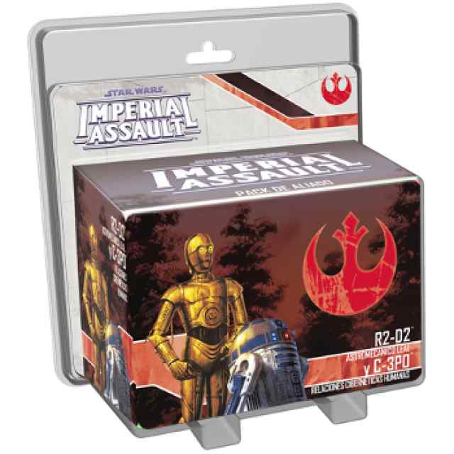 Imperial Assault R2D2 & C3PO Pack