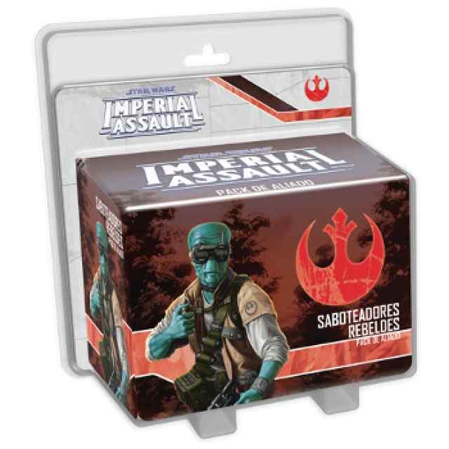 Star Wars: Imperial Assault Saboteadores Rebeldes