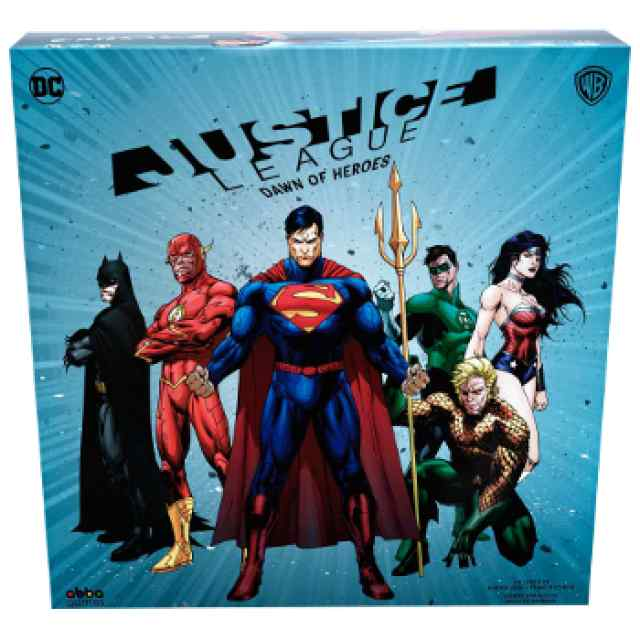 Justice League: Dawn of Heroes TABLERUM