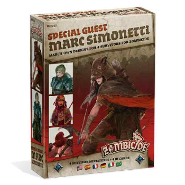 expansión Zombicide Black Plague: Special Guest: Marc Simonetti