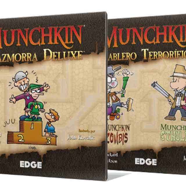Munchkin: Pack Tablero Terrorífico + Mazmorra DeLuxe