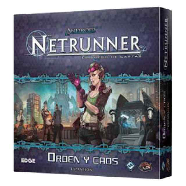 comprar Android Netrunner: Orden y Caos