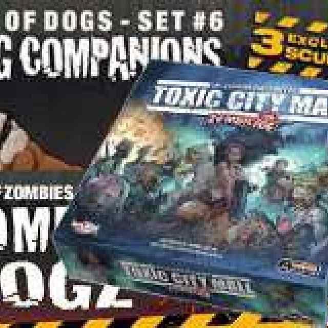 Zombicide Toxic City Mall + Dog Companions + Zombie Dogz
