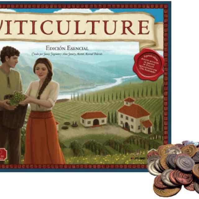 Viticulture Essential Edition + Monedas Metálicas