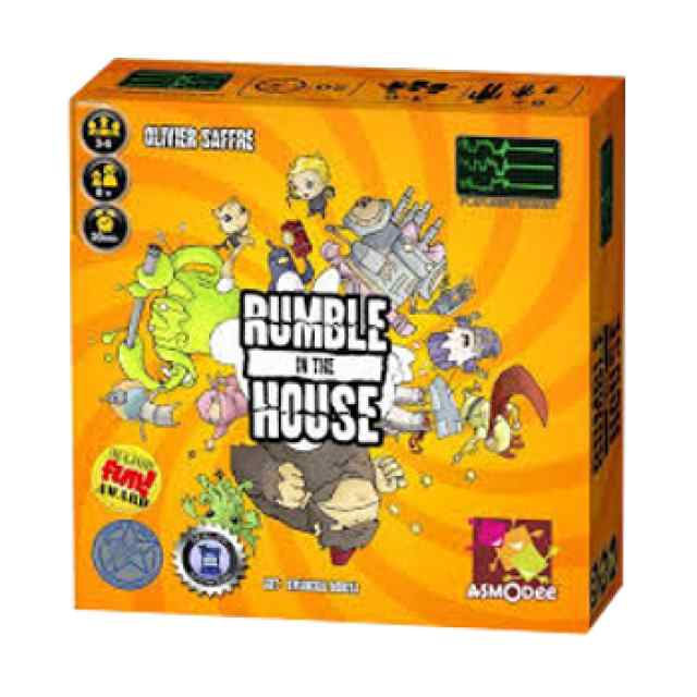 comprar juego de mesa Rumble in the House