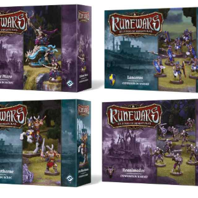 Runewars El juego de Miniaturas: Oleada 2  Wave 2