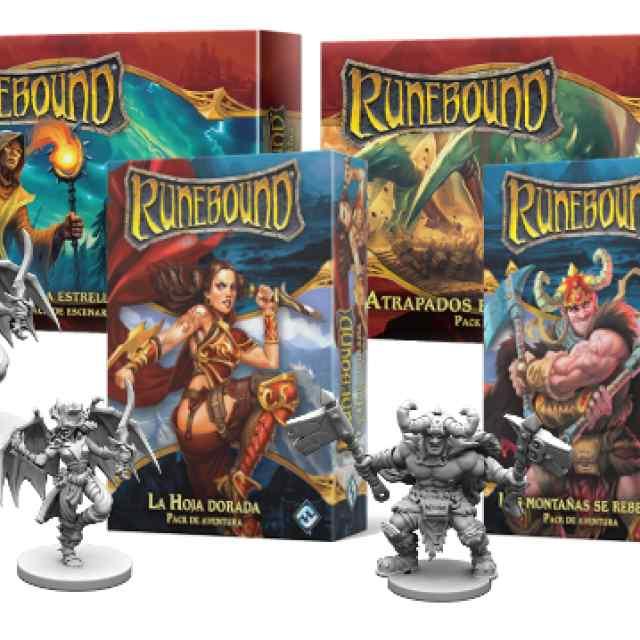 Runebound (3Ed) Expansiones Oleada 1