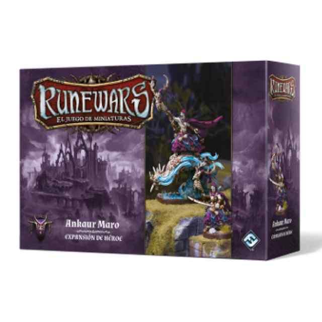 Runewars: El juego de miniaturas Waiqar el Inmortal: Ankaur Maro
