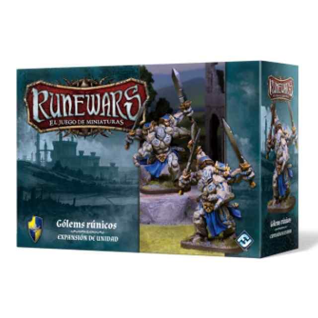 Runewars: El juego de miniaturas Los Señores de Daqan: Gólems Rúnicos