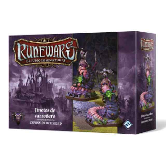 Runewars: El juego de miniaturas Waiqar el Inmortal: Jinetes de Carroñero