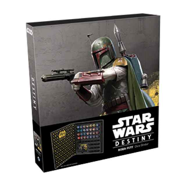 Star Wars: Destiny: Boba Fett Dice Binder TABLERUM