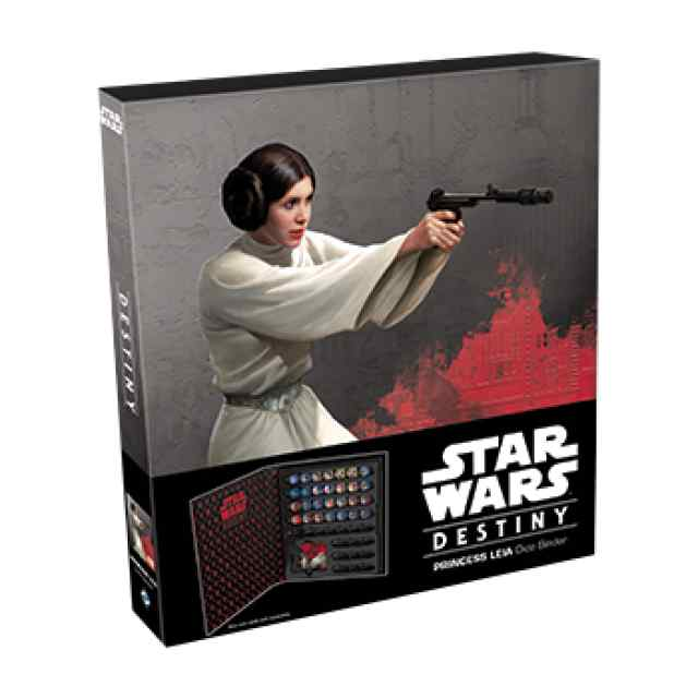 Star Wars: Destiny: Princesa Leia Dice Binder TABLERUM