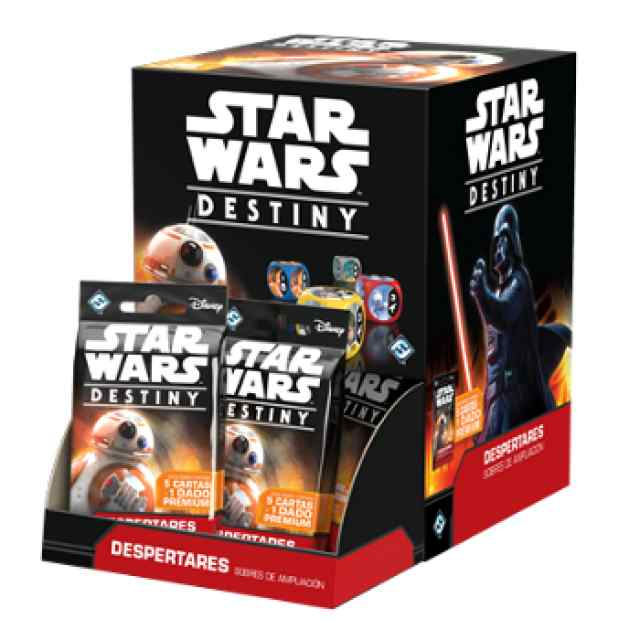 comprar Star Wars: Destiny: Despertares Expositor 36 Sobres de Ampliación