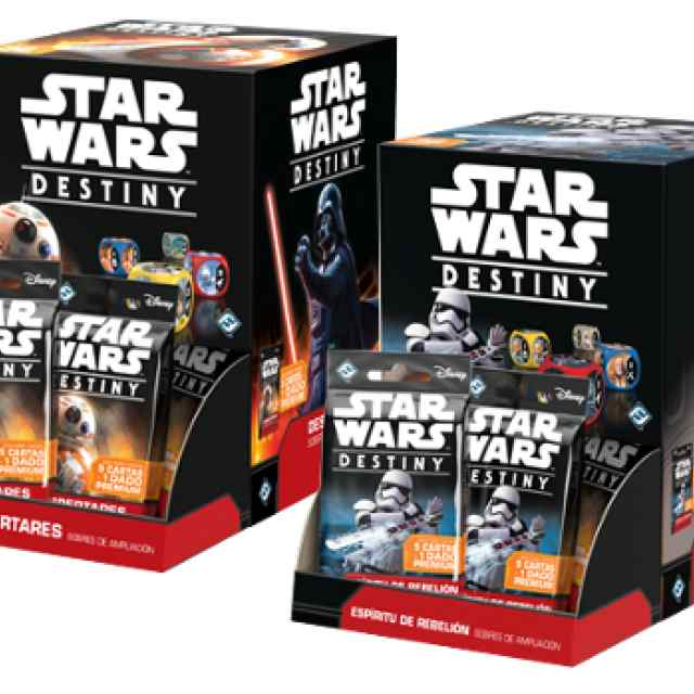 Star Wars Destiny Despertares y Espíritu de Rebelión TABLERUM