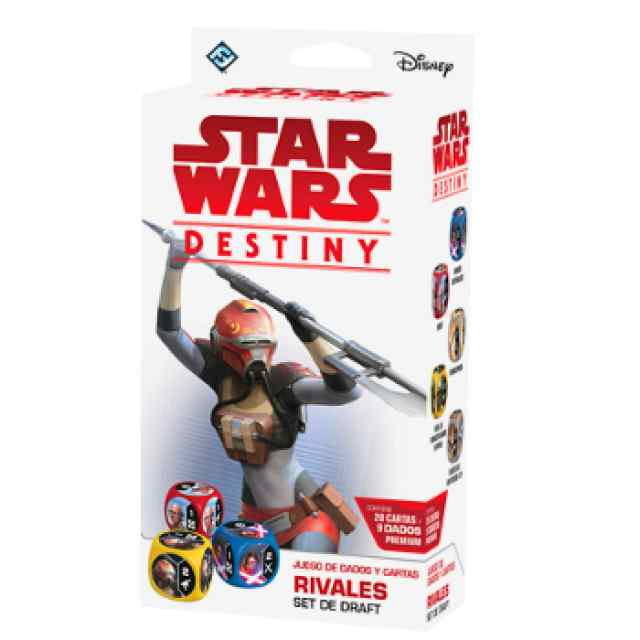 Star Wars: Destiny: Rivales Set de Draft TABLERUM