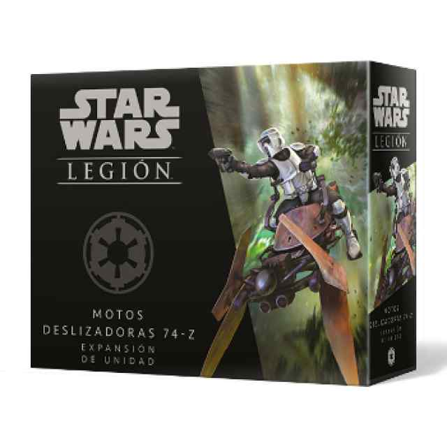 Star Wars Legión: Motos Deslizadoras 74-Z TABLERUM