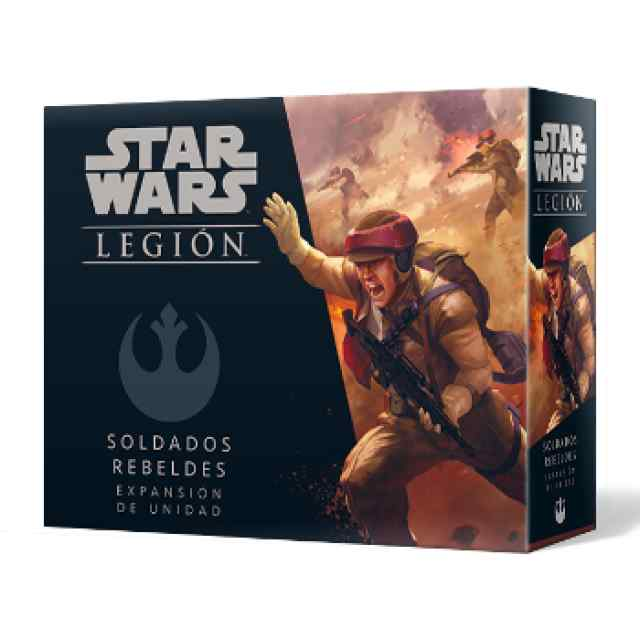 Star Wars Legión: Soldados Rebeldes TABLERUM