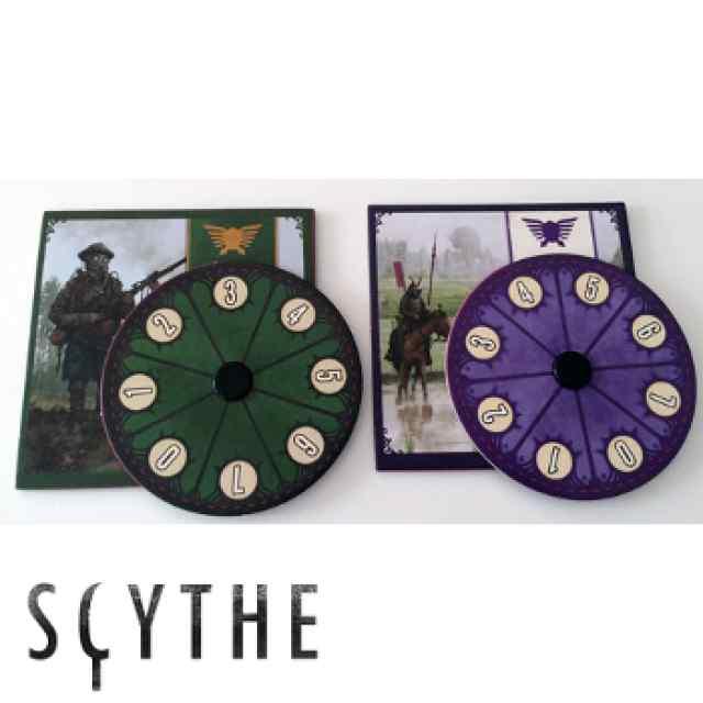 Scythe: 2 Diales de poder promocionales Albion y Togawa TABLERUM