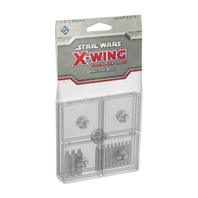 X Wing: Peanas y Clavijas Transparentes