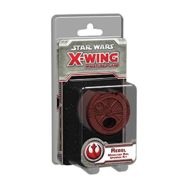X Wing: Kit de mejora de selector de maniobra para Rebeldes