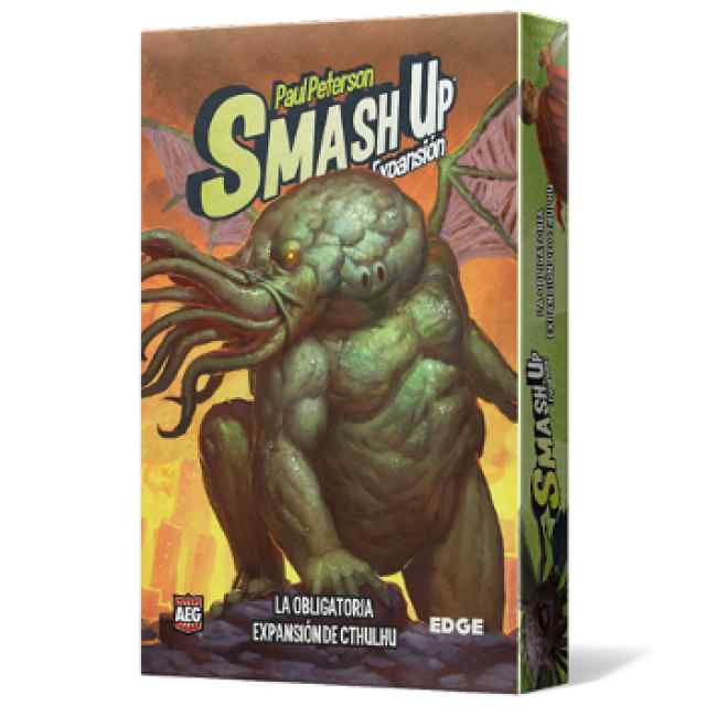 comprar Smash Up: La Obligatoria Expansión de Cthulhu