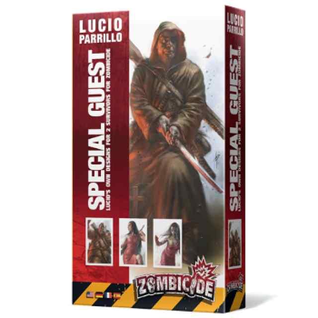 comprar Zombicide T3: Special Guest Parrillo