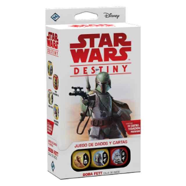 Star Wars: Destiny: Caja de Inicio: Boba Fett TABLERUM