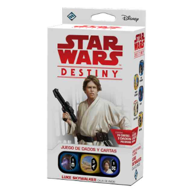 Star Wars: Destiny: Caja de Inicio Luke Skywalker TABLERUM