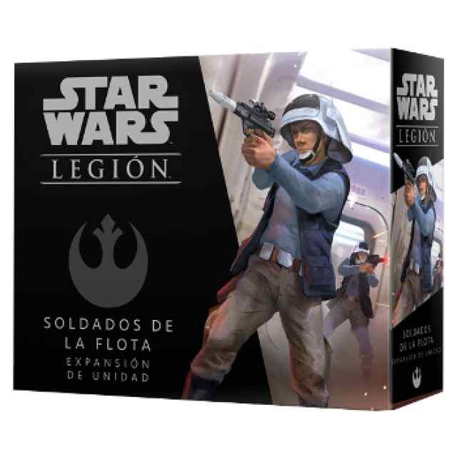 Star Wars: Legión Unidades Rebeldes: Soldados de la Flota TABLERUM