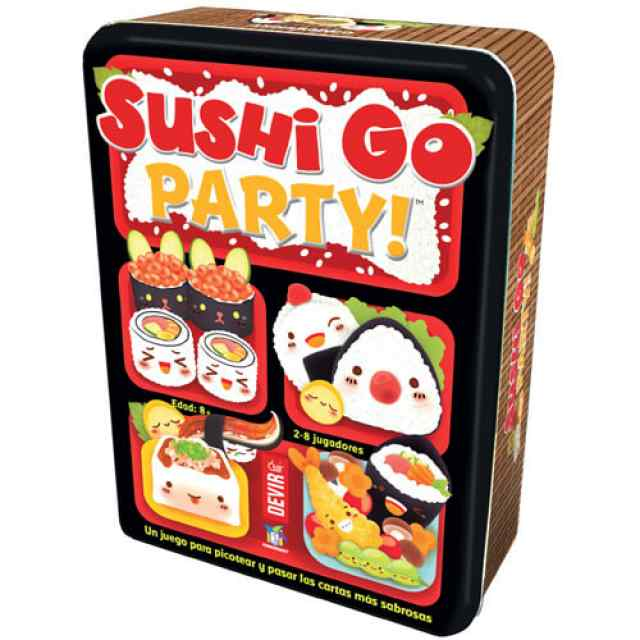 sushi go party español