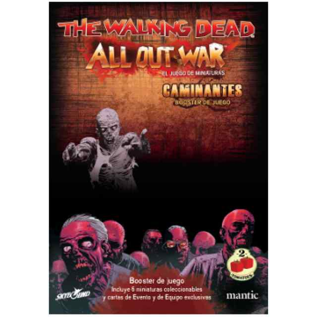 The Walking Dead All Out War: Booster Caminante