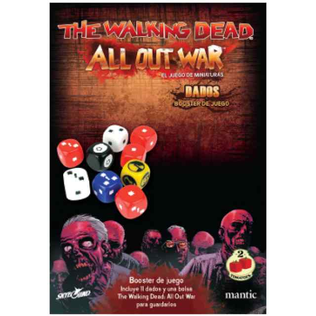 The Walking Dead All Out War: Booster Dados