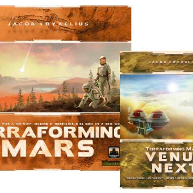 Terraforming Mars + Venus Next TABLERUM