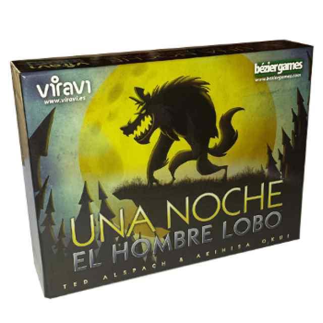 juego de mesa Una Noche, El Hombre Lobo