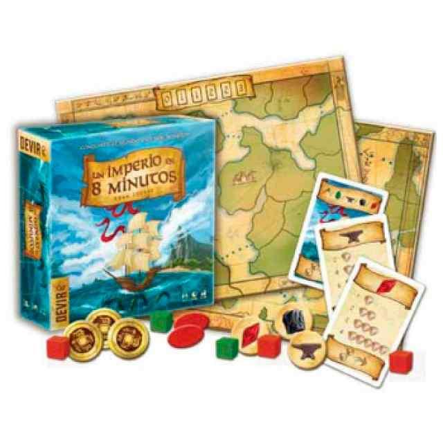 Un Imperio en 8 minutos juego de mesa