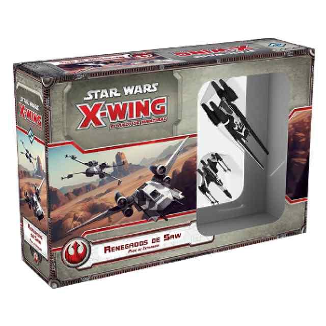X Wing: Renegados de Saw TABLERUM
