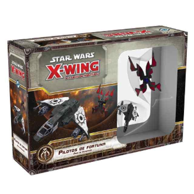 X Wing: Pilotos de Fortuna Ases Scum