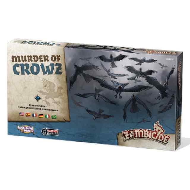 juego Zombicide Black Plague: Murder of Crowz