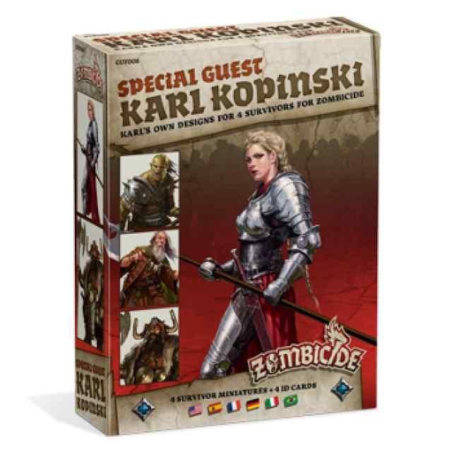 juego Zombicide Black Plague: Special Guest: Karl Kopinski