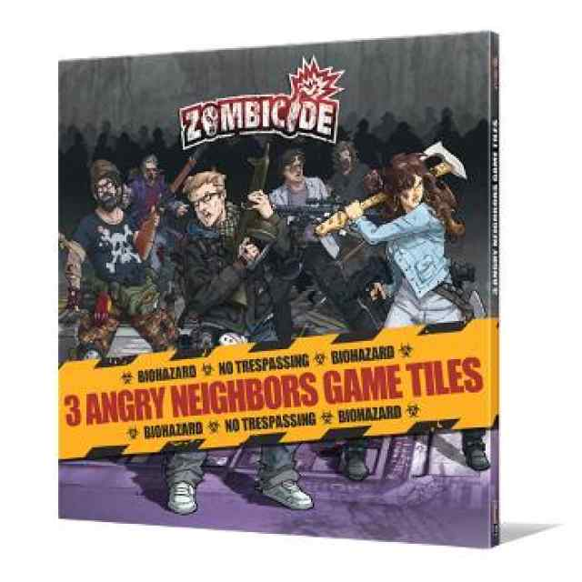 comprar Zombicide T3: Angry Neighbors Tile Set
