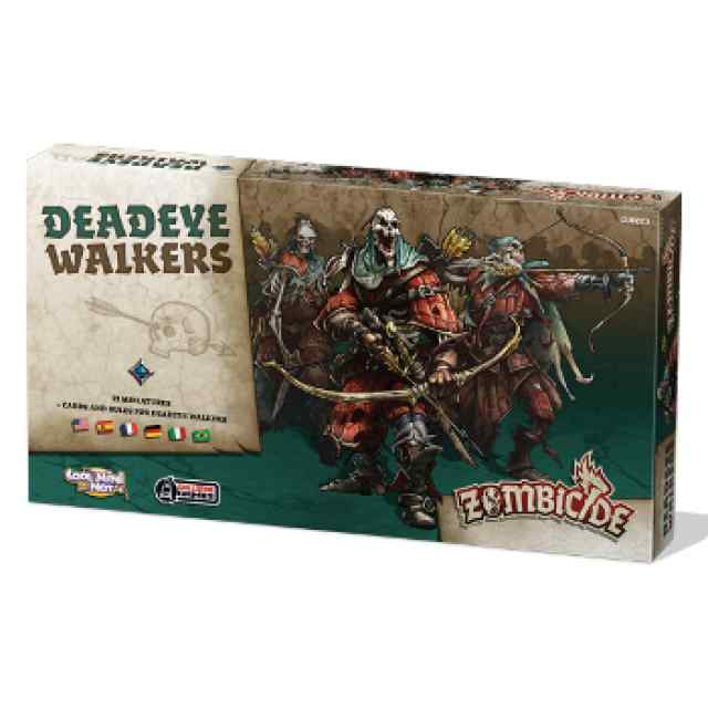expansión Zombicide Black Plague: Deadeye Walkers