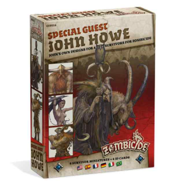 Zombicide Black Plague: Special Guest: John Howe