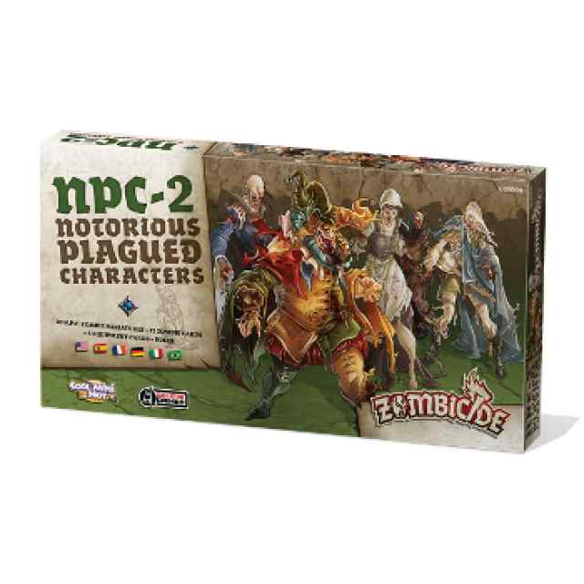 Zombicide Black Plague: Notorious Plagued Characters #2
