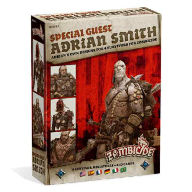 expansión Zombicide Black Plague: Special guest: Adrian Smith