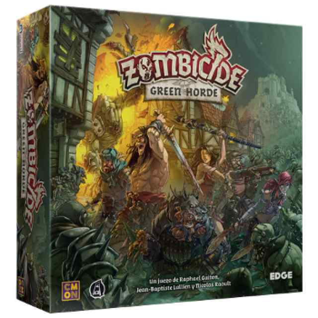 Zombicide: Black Plague: Green Horde TABLERUM