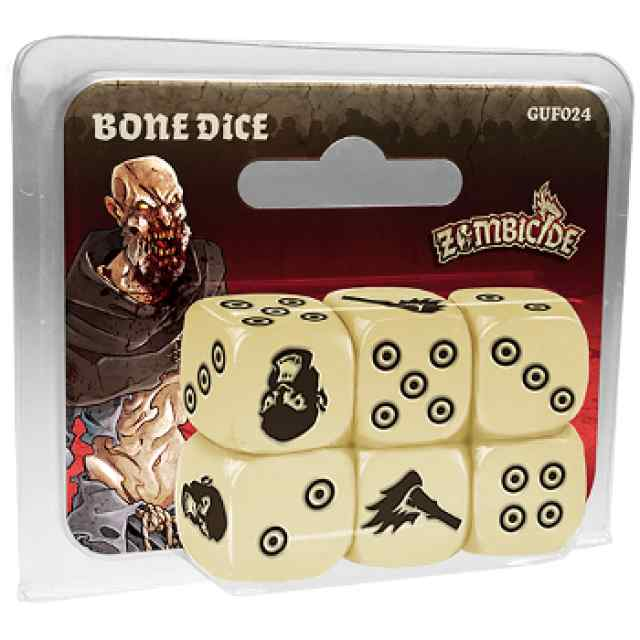comprar Zombicide Black Plague: Bone Dice Dados