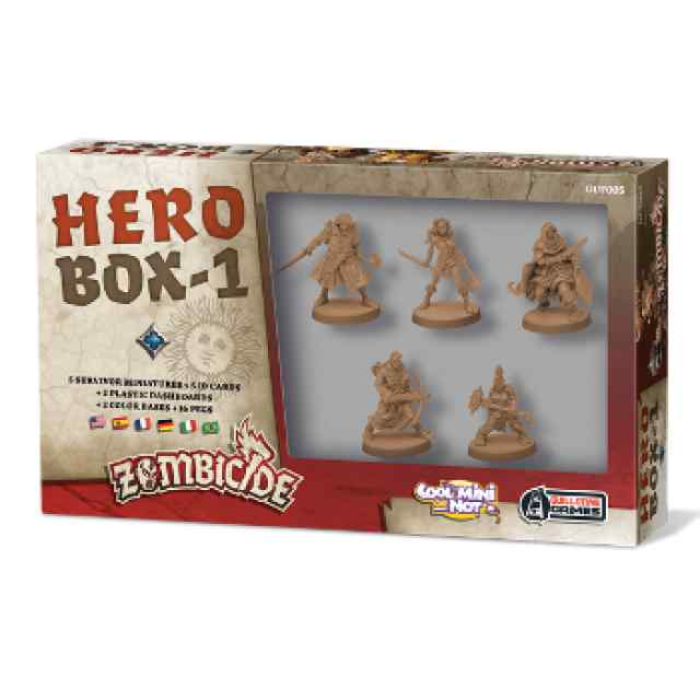 comprar Zombicide Black Plague Hero Box 1